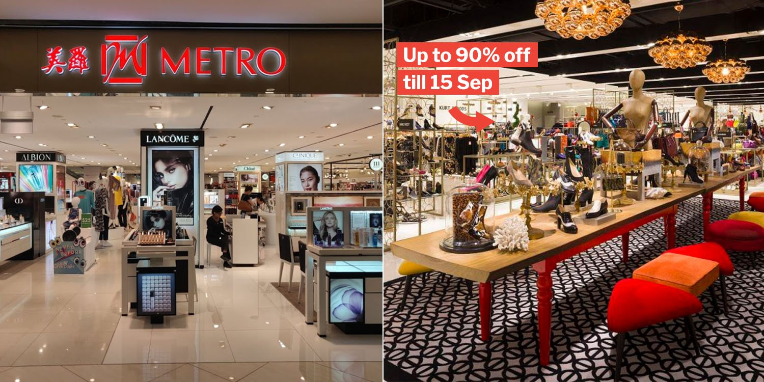 Metro Centrepoint Has Up To 90% Deals