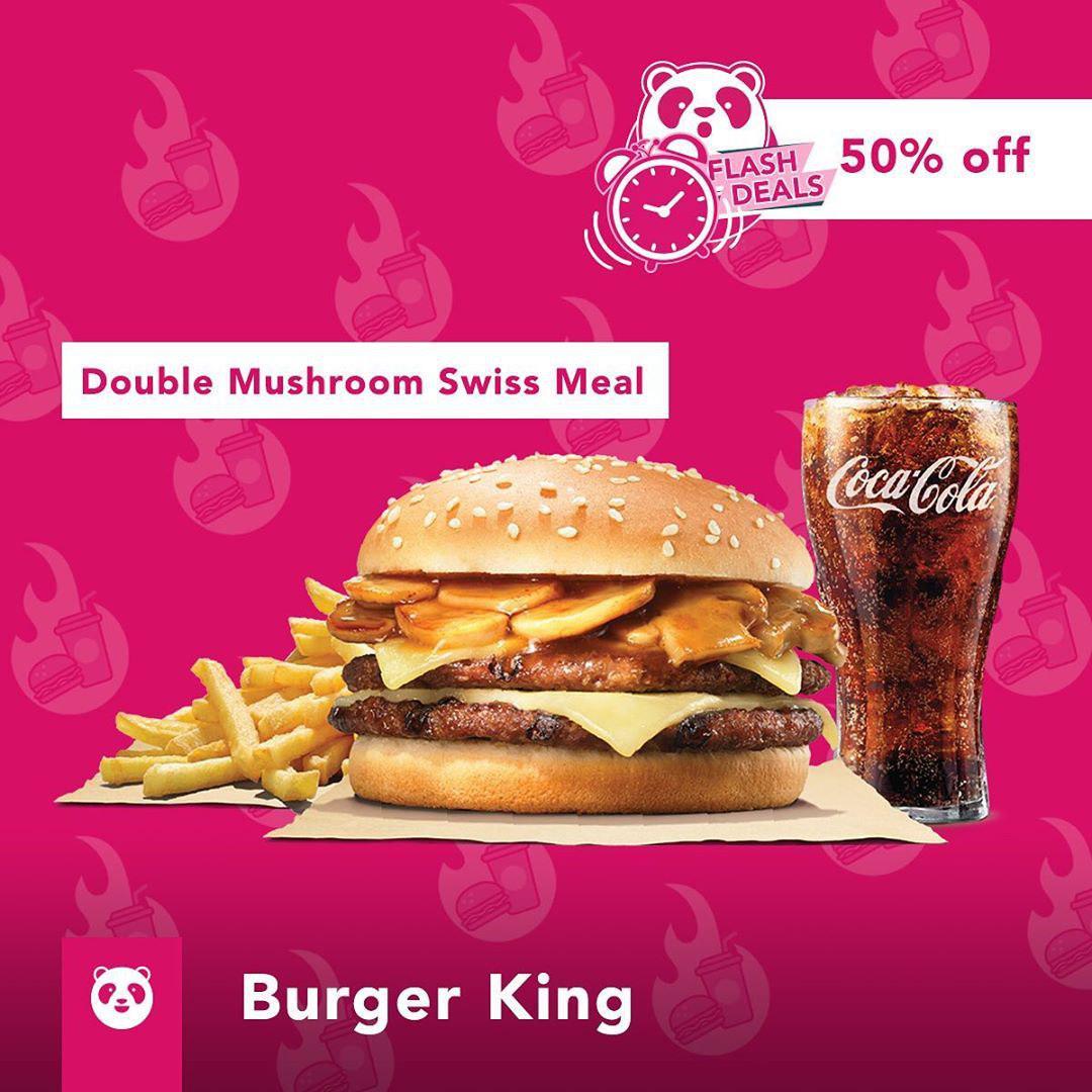 foodpanda burger king discount