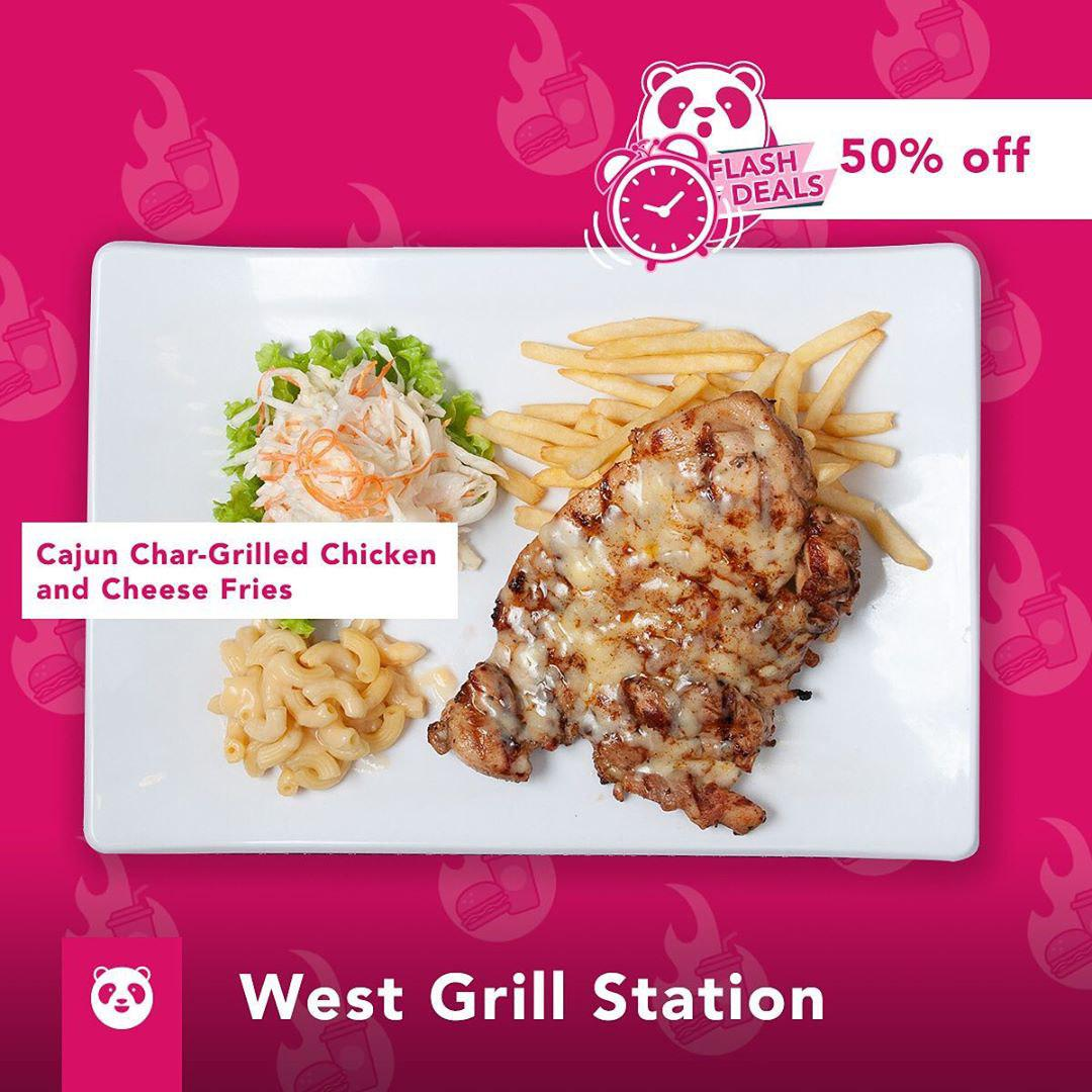 west grill station foodpanda discount
