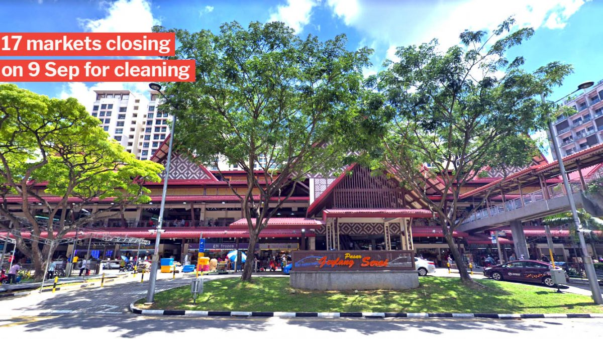 Geylang Serai Market To Close From 9 12 Sep For Cleaning So Hold