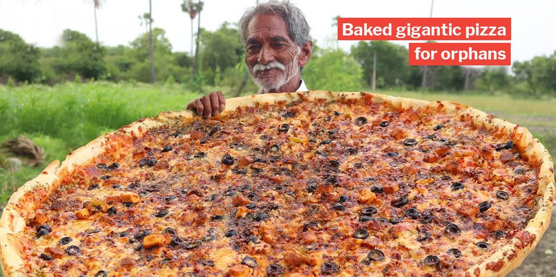 Grandpa Kitchen Who Cooks Huge Meals