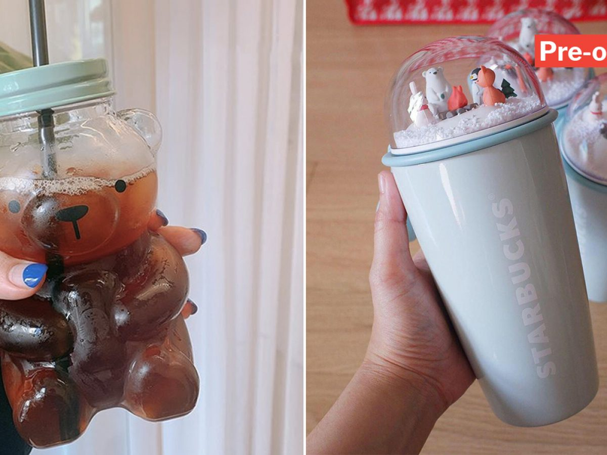 Starbucks Korea Releases Polar Bear Mugs Tumblers So Cute You Can T Bear To Drink From Them