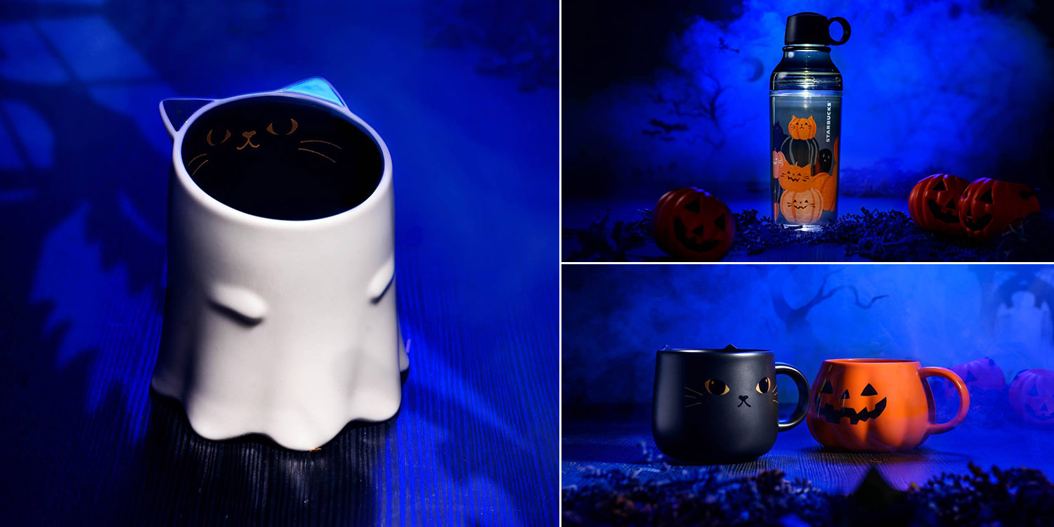 Starbucks Singapore Has Halloween Mugs For Friends Who Ghost