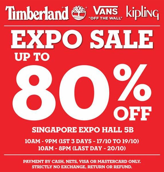 Expo Sale Has Up To 80% Off On Timberland, Vans & Kipling