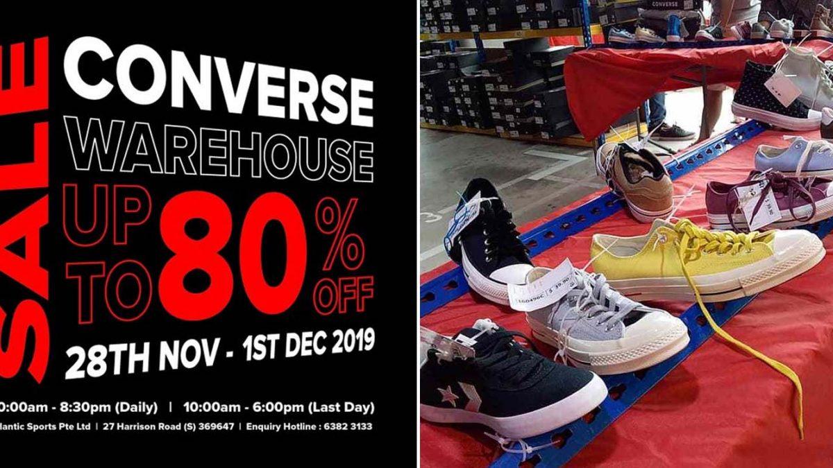converse warehouse sale november 2018