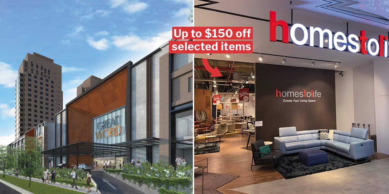 Great World City Is Giving Away $50 Shopping Vouchers To 250