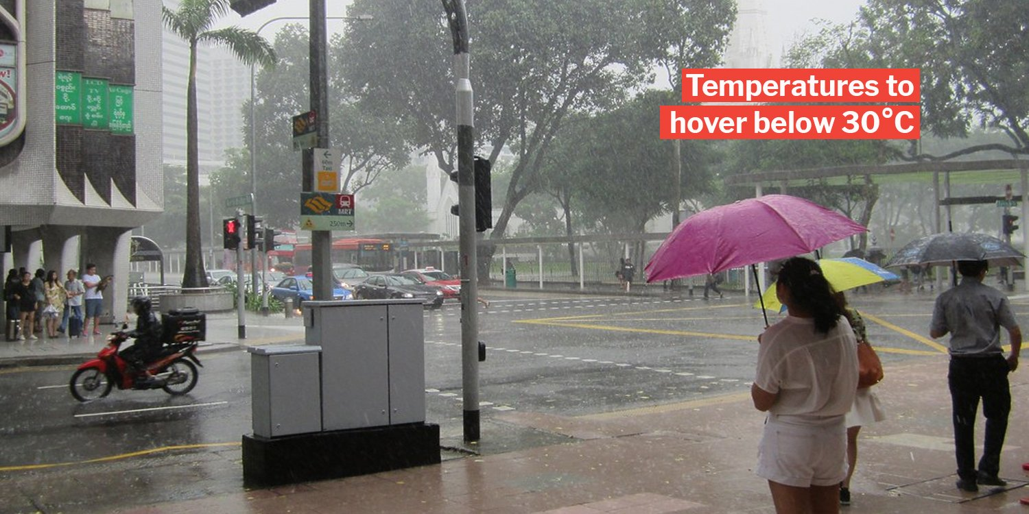 Christmas Weather 2020 Rainy Weather In S'pore Till Mid Jan 2020 Means We'll Have A Wet