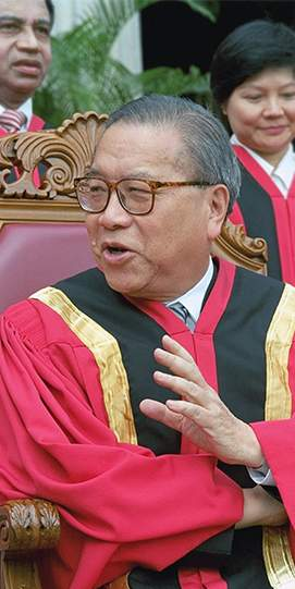 Former Chief Justice Yong Pung How