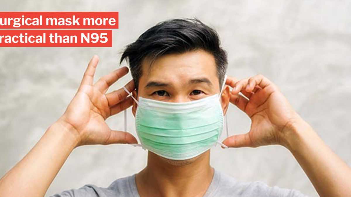 N95 Masks Surgical Moh Use S'poreans Advises Of Instead To