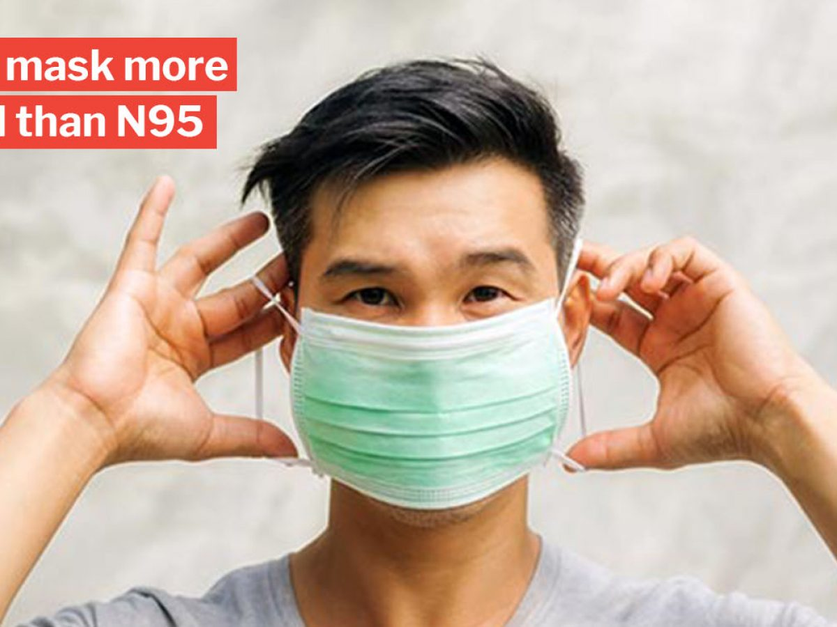 To Advises Instead Surgical Masks Use N95 Of Moh S'poreans