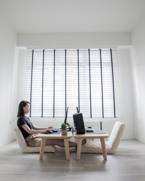 S'pore Couple's Minimalistic 3-Room HDB Is So Neat It Will