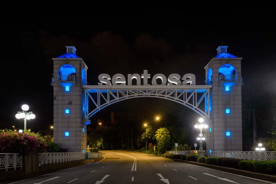 Singapore Blue Landmarks 7