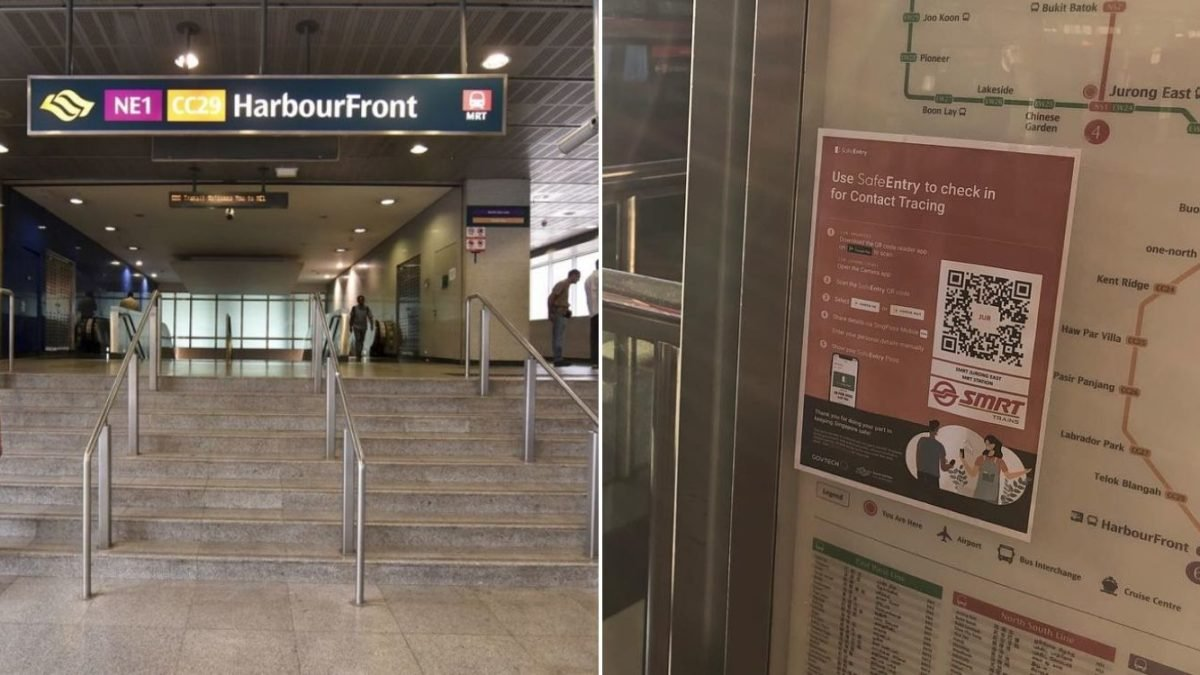 Mrt Stations Bus Interchanges Will Have Qr Code Scans Prepare Your Phones Upon Entry