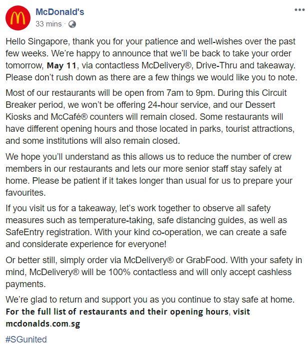 Order resume online mcdonalds