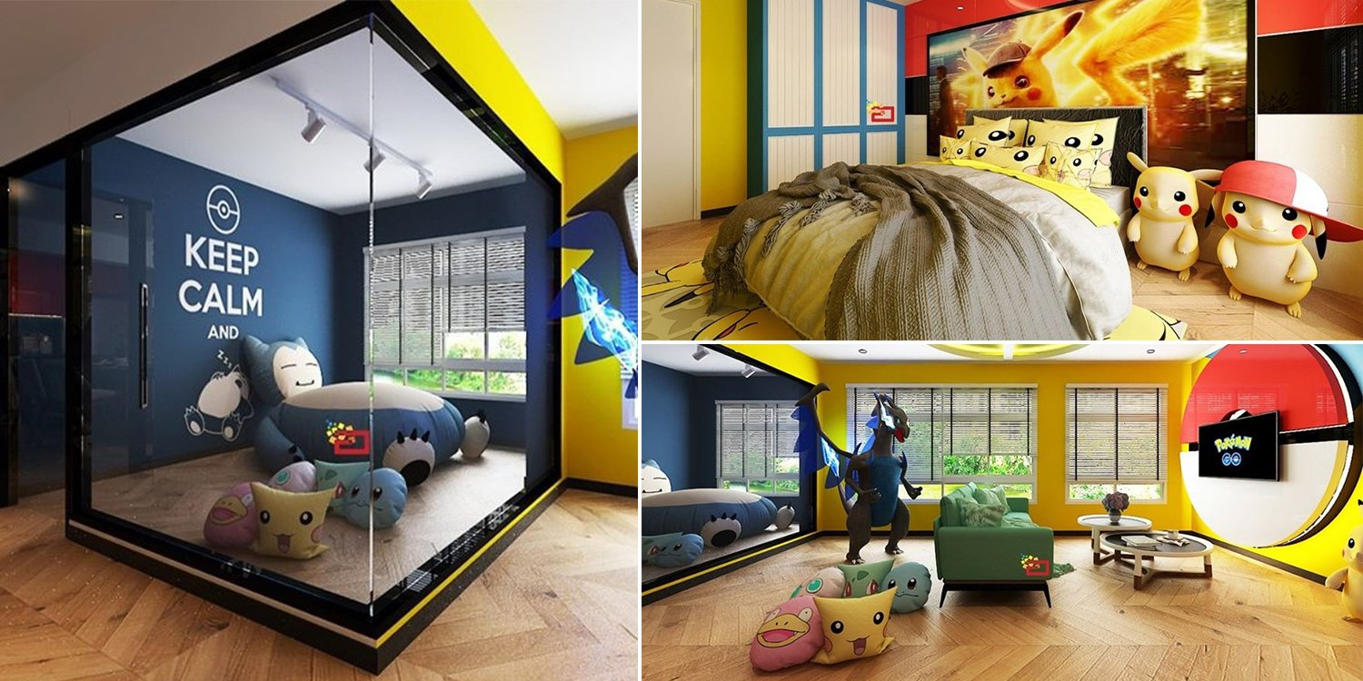 This Pokemon HDB Flat Design Makes Us Wanna Be Legit Trainers In Our Own Homes