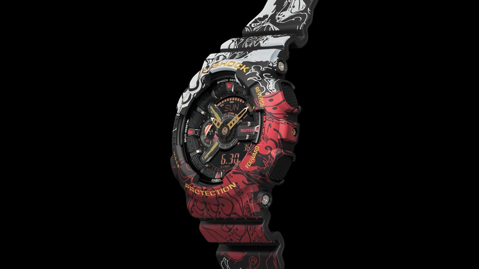 Casio One Piece G-Shock Watch Pays Homage To Luffy & His ...