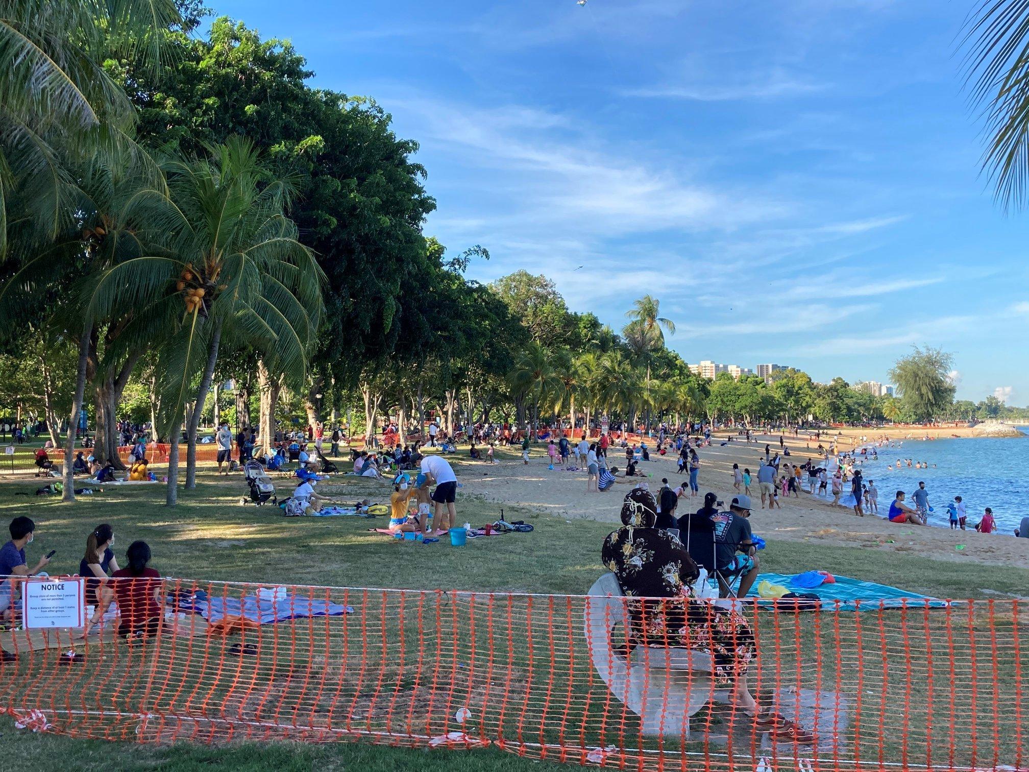 Pitching of Tents - FishingKaki.com |East Coast Park Shelter