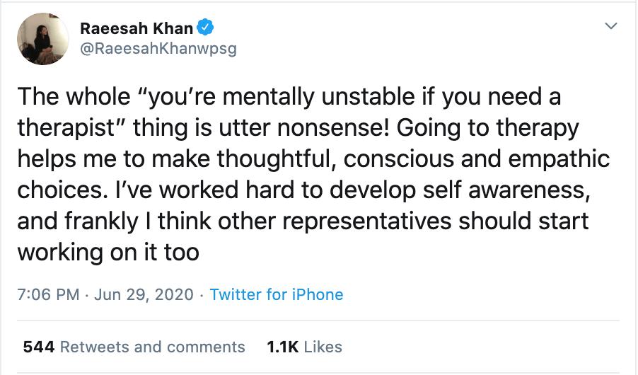 Raeesah Khan