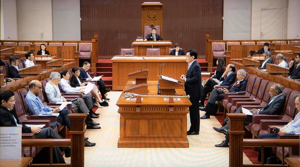 S'pore Parliament reopens 4