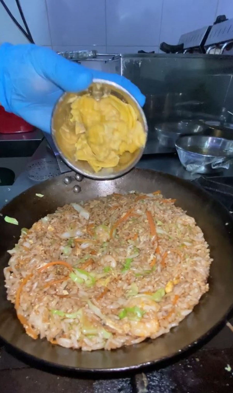 MSW Durian Fried Rice topping