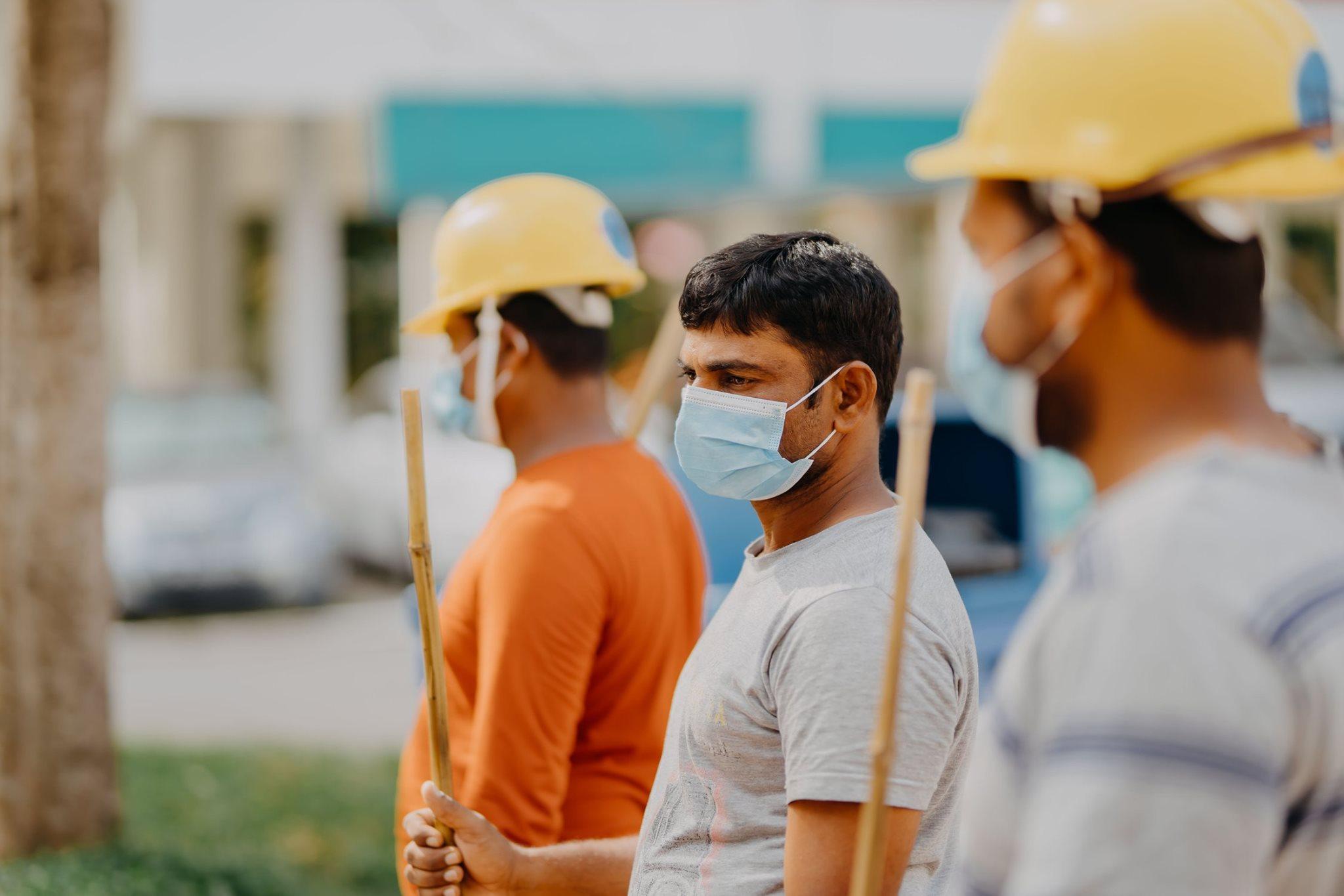migrant workers help