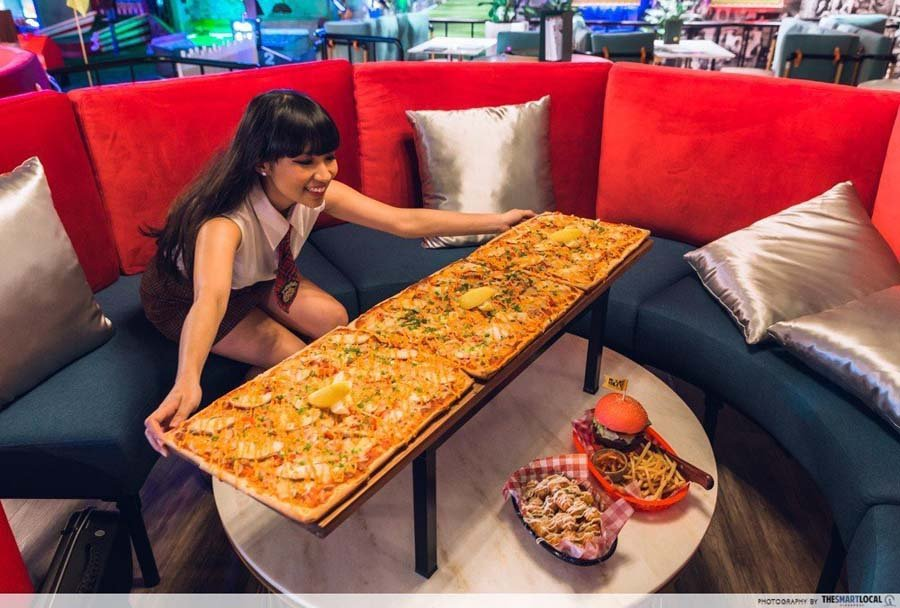 1-for-1 pizza