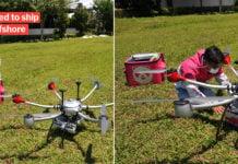 foodpanda drone