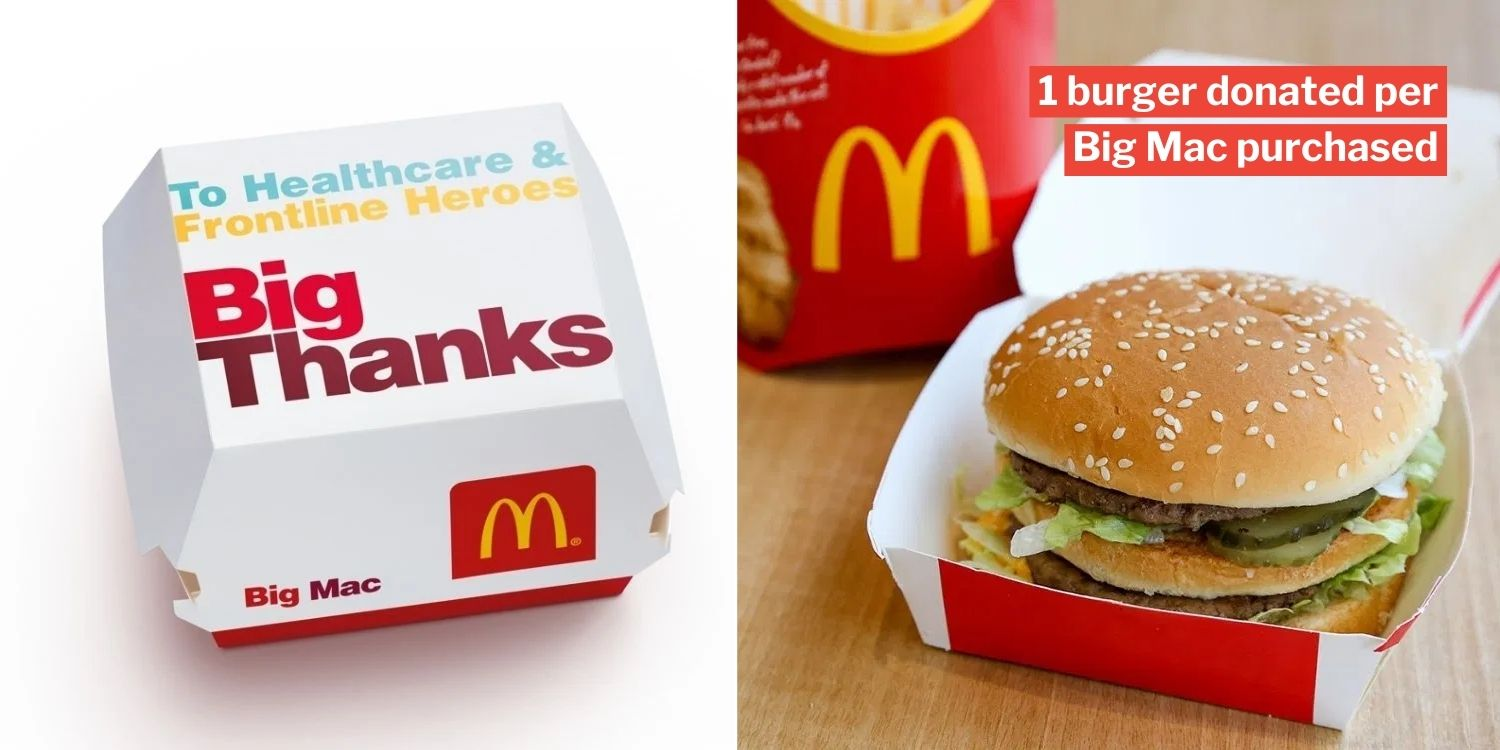 McDonald's Lets You Feed Frontline Workers With Every Big ...