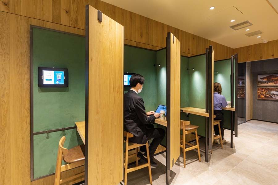 starbucks private booths 3