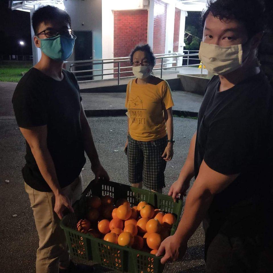 oranges 7th month