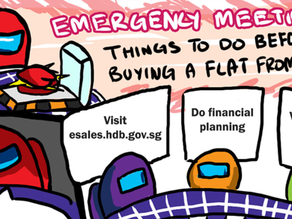 Hdb Scdf Use Among Us Memes To Teach Proper Practices So They Re Easy To Remember