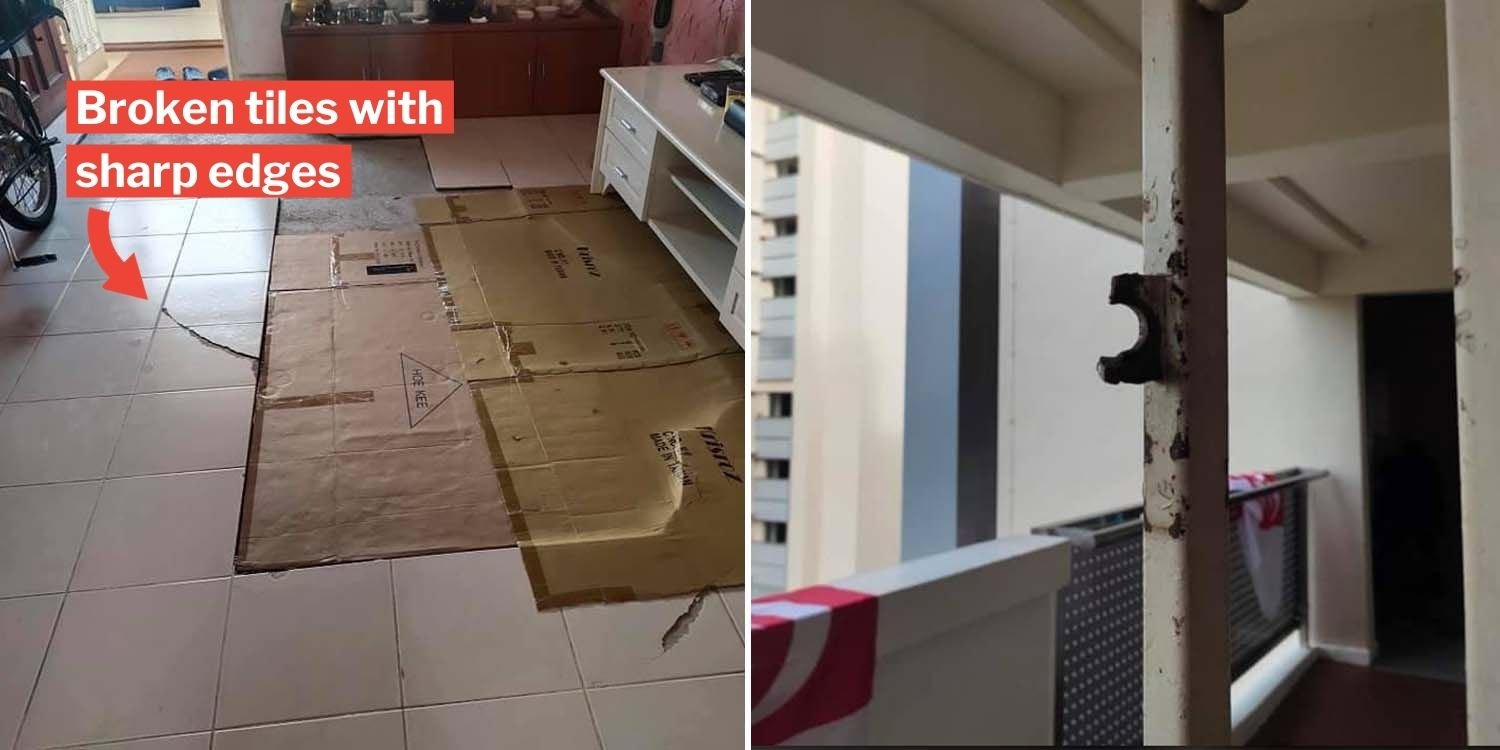 Jalan Besar Resident Claims Rental Flat Damages Not Addressed MP Denise Phua Helps Appeal To HDB 4 - Hdb Rental Flat Application Form