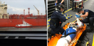 Man Fell On Offshore Ship