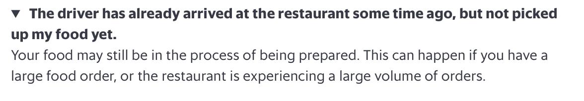Grabfood helpsite FAQ
