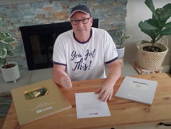 Youtube father wins Youtube award