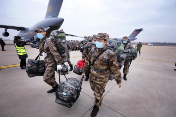Chinese military using vaccine