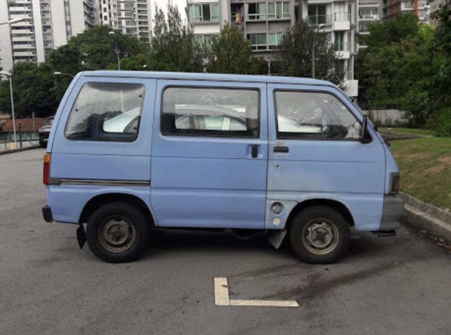 Scooby Doo van (before pic)