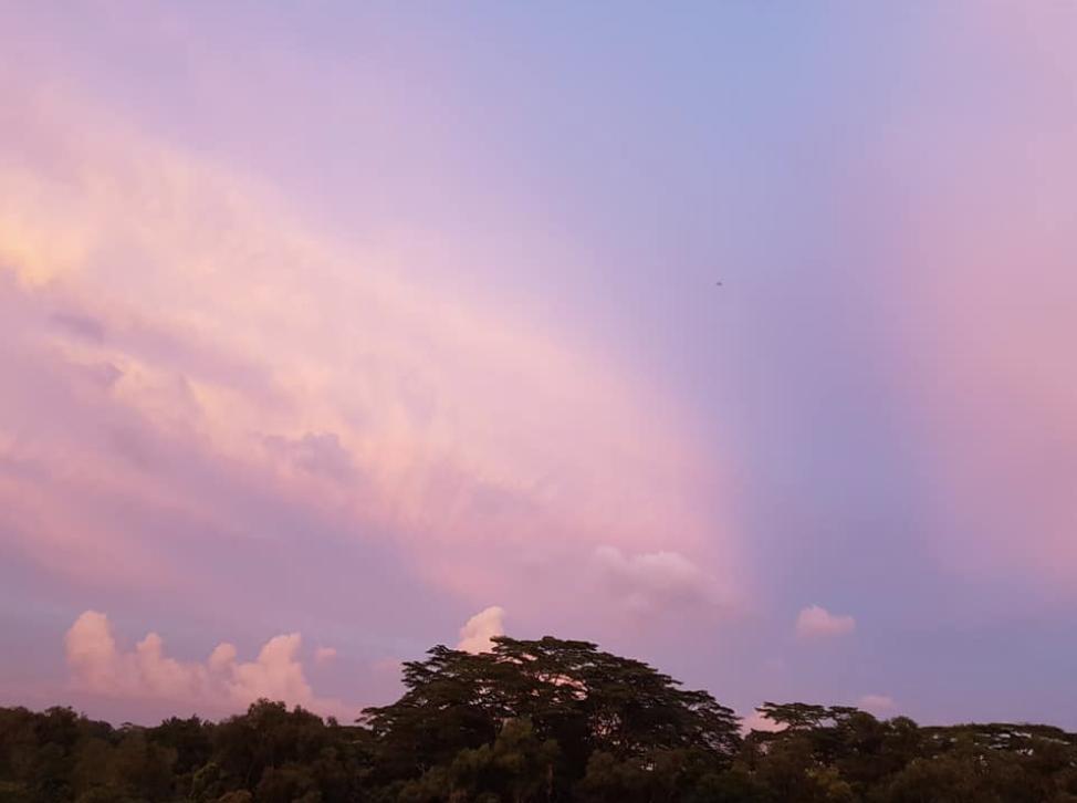 Sunset, sky only
