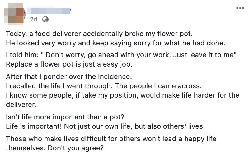 Deliveryman empathy