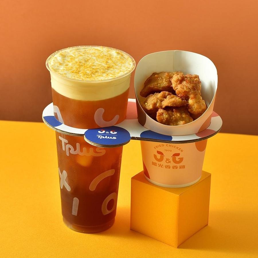 BBT served with fried chicken 1