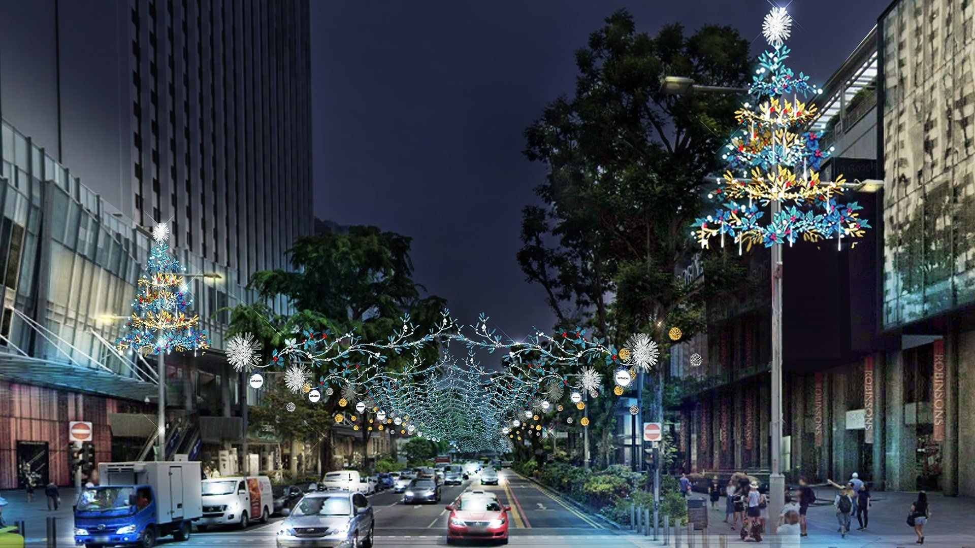 Orchard Road Christmas