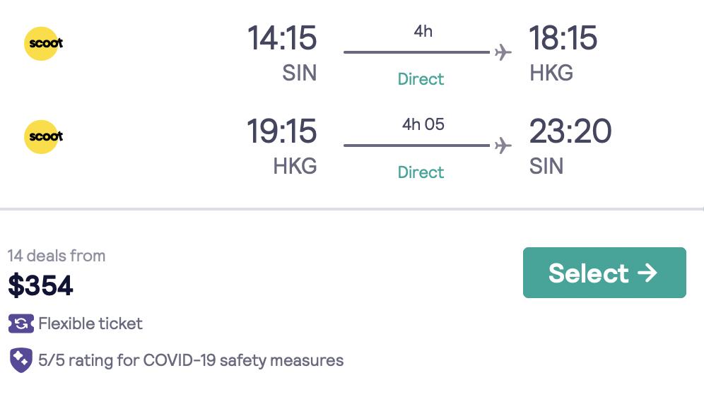 Affordable HK flights