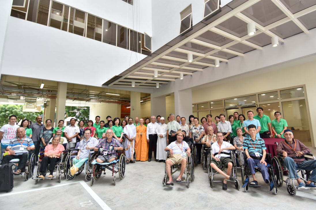 nursing home group picture