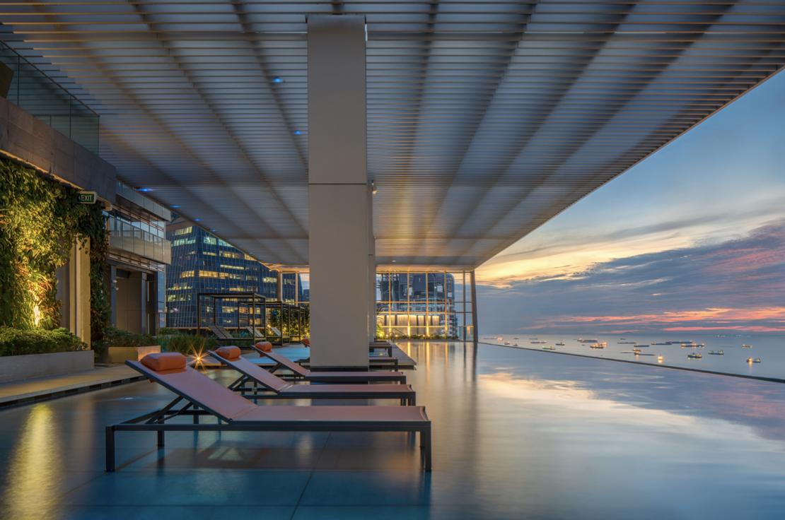 Dyson penthouse view