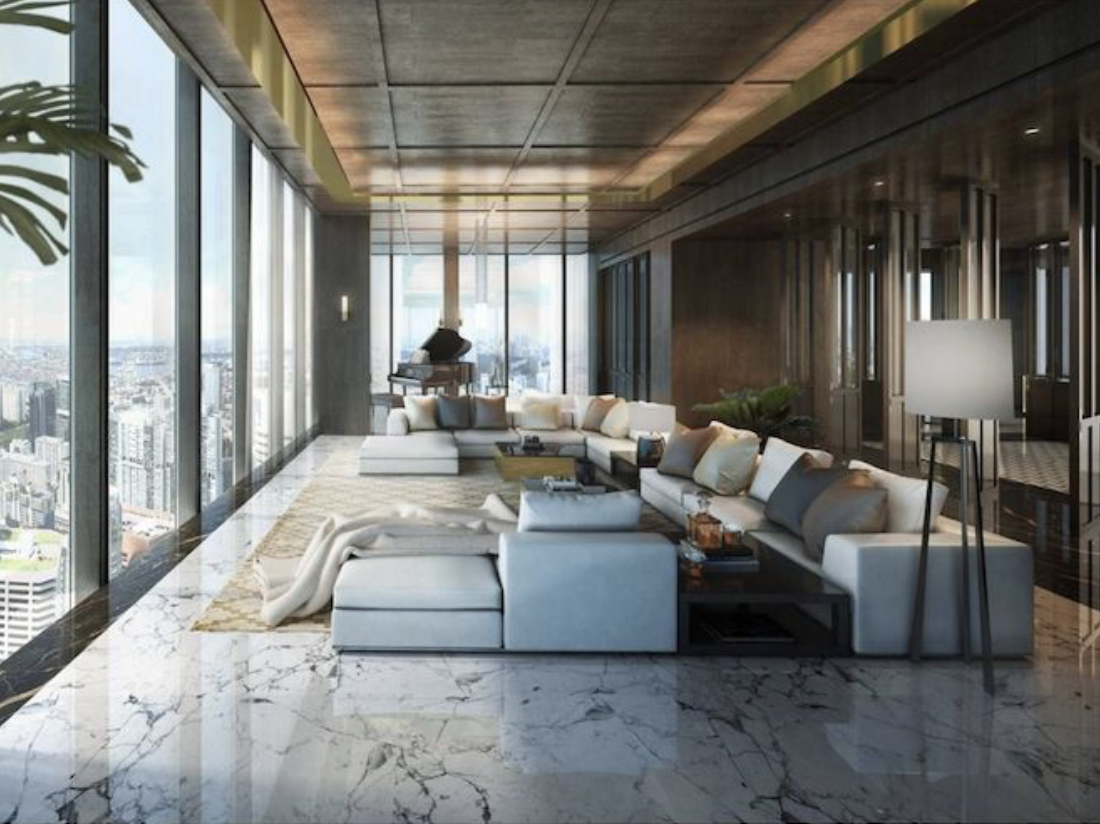 Dysons penthouse interior