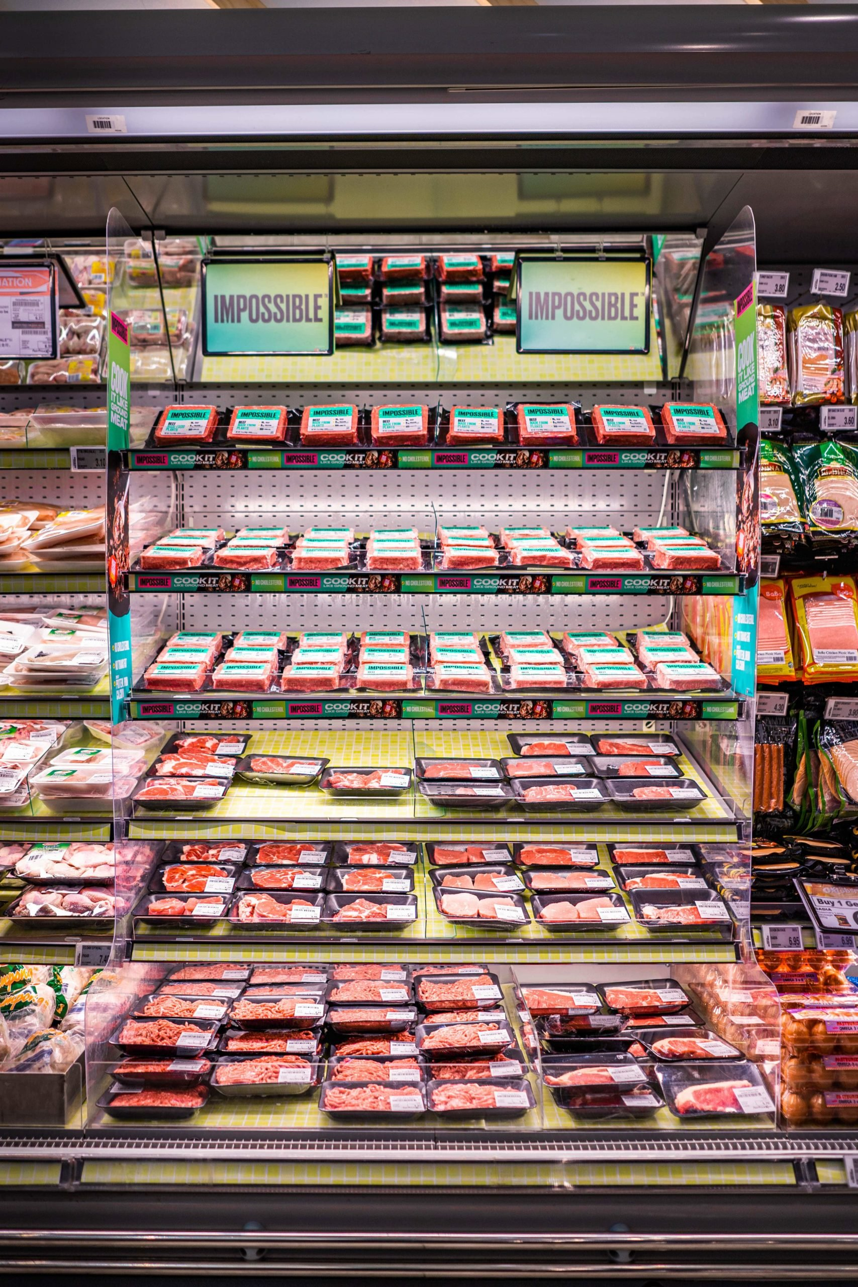 Impossible meat Fairprice redmart