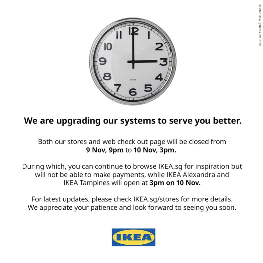 IKEA close