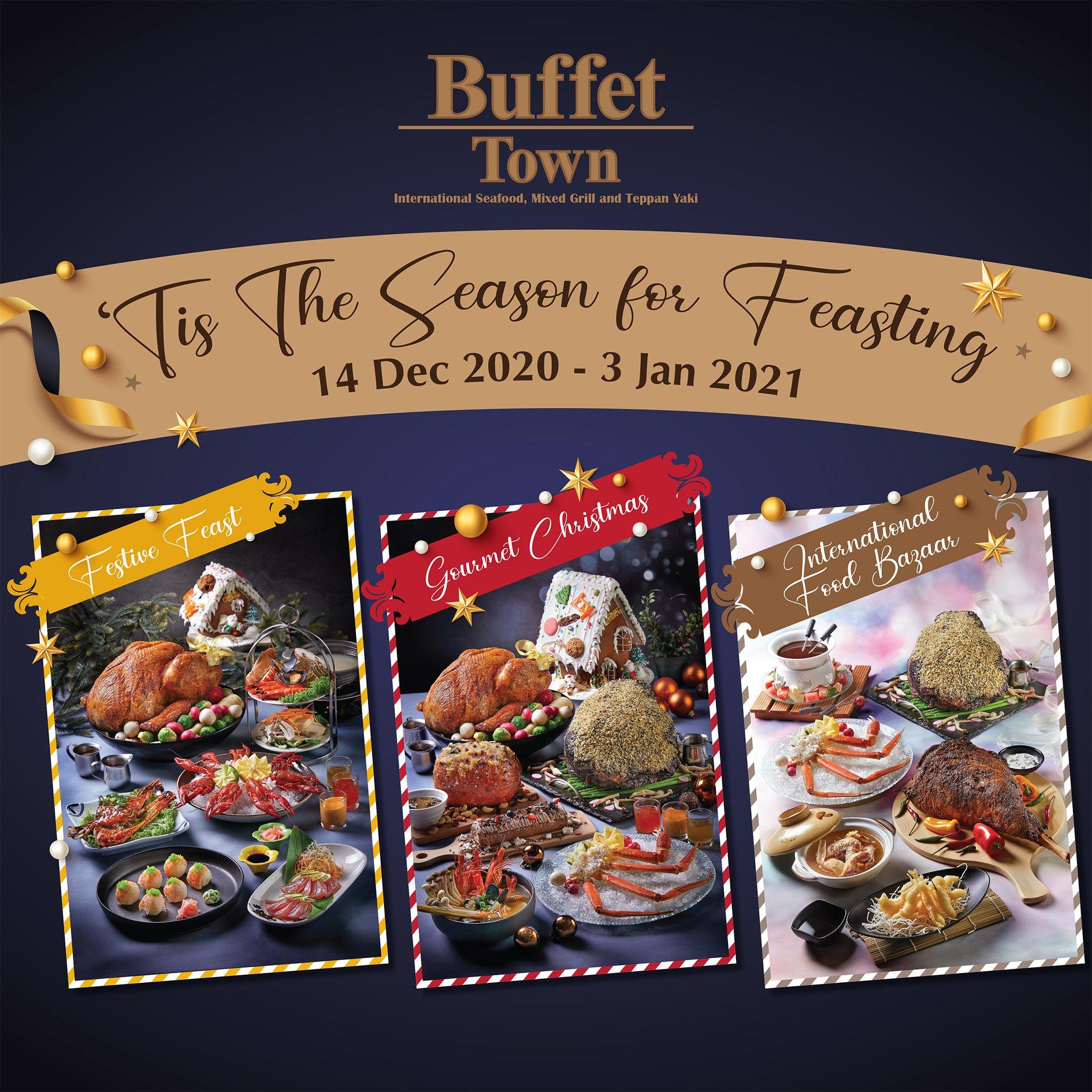 Buffet town halal-certified