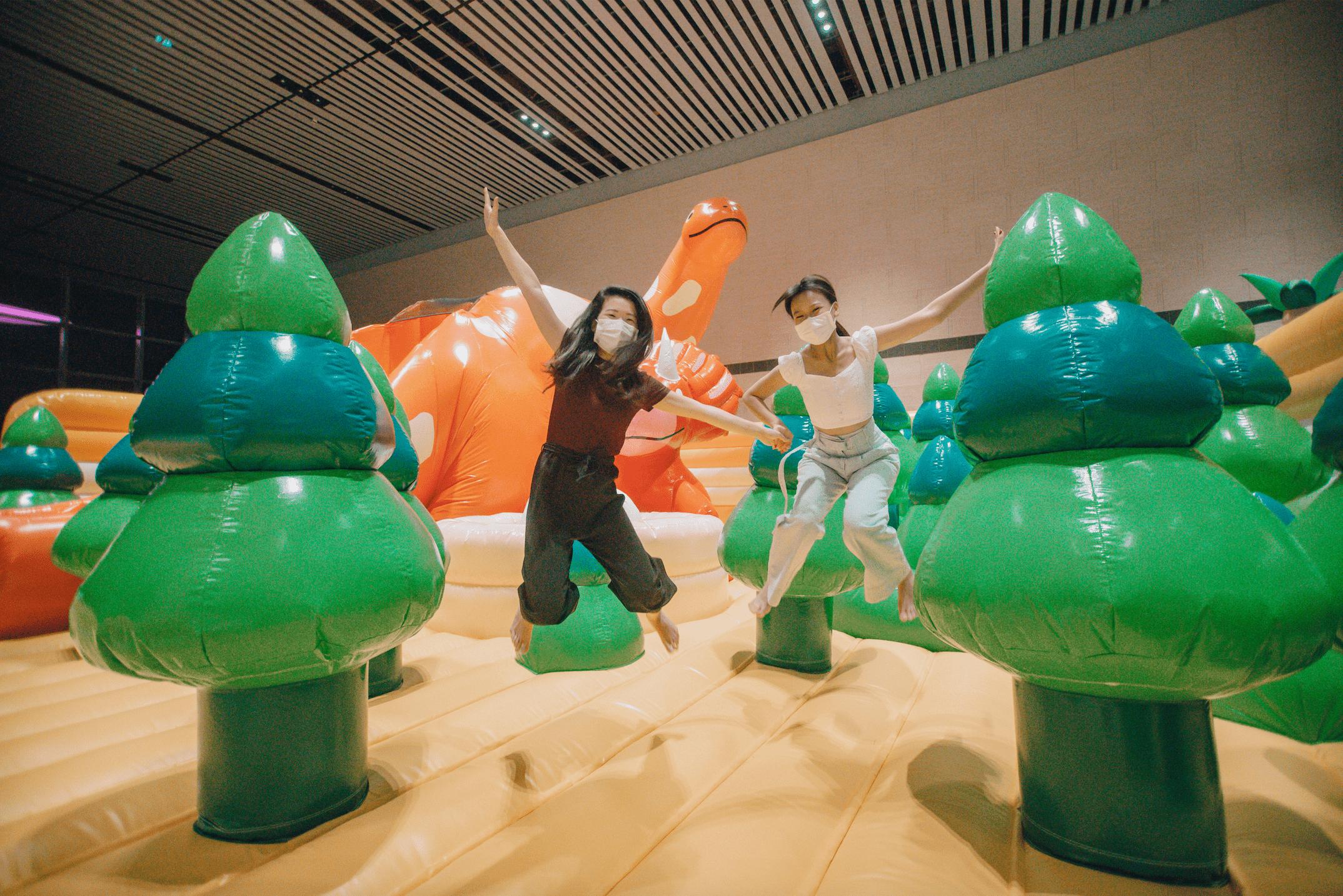 Changi Airport go-kart