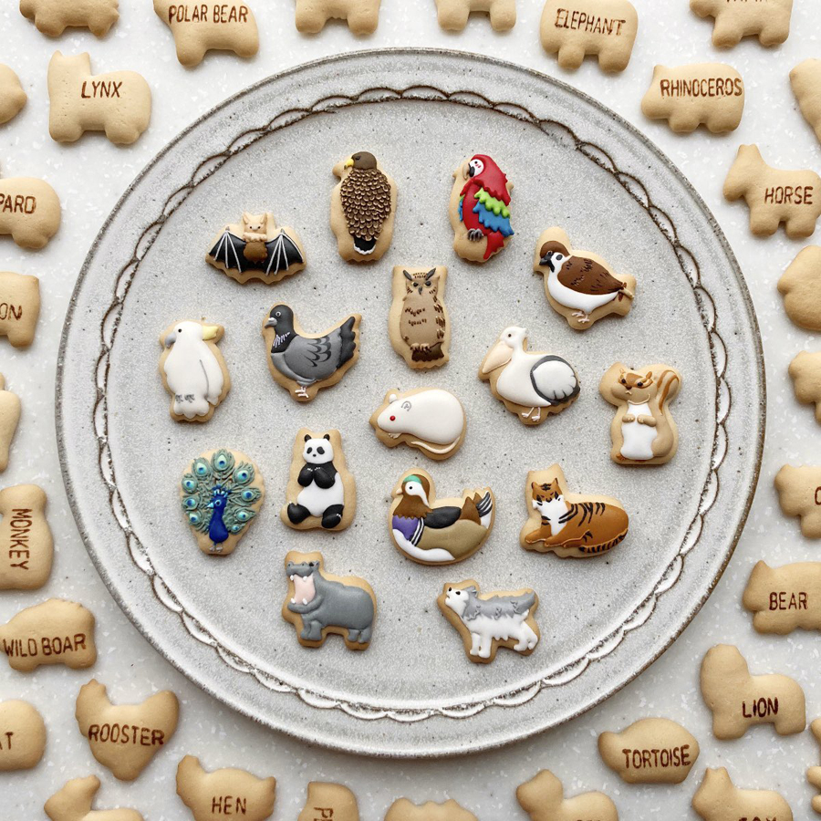 frosted animal crackers 1